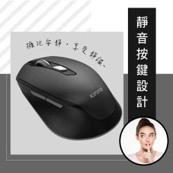 KINYO 無線2.4G靜音滑鼠 (GKM-917)
