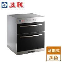 【五聯】 WD-2501 - 簡易型雙抽屜式落地烘碗機(黑色)