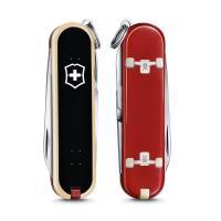 VICTORINOX 瑞士維氏限量迷你7用印花瑞士刀-滑板運動 06223.L2003