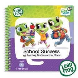 【LeapFrog】Leap Start書籍-上學好好玩3D(學習時間 互動式機關 全英發音)