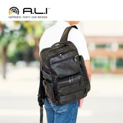(A.L.I)防水3WAY 機能後背公事包/後背包/電腦包(WTZ-3313)