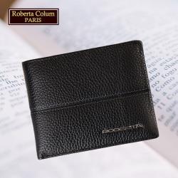 (Roberta Colum)諾貝達 男用專櫃皮夾 進口軟牛皮短夾(25005二色可選)