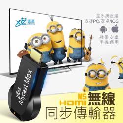 【XC】HDMI無線同步傳輸器 / 同屏器電視棒 公司貨