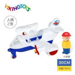 【瑞典 Viking toys】Jumbo飛行1號機-30cm