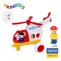 【瑞典 Viking toys】Jumbo救援直升機-30cm