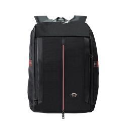 DRAKA 達卡 - 紳士同盟系列-筆電/iPad後背包-紅黑