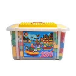 【 台製我高積木 】# 233 OK積木大收納箱益智大顆粒積木組 / 230 pcs