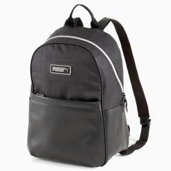 【現貨】PUMA PRIME 背包 後背包 皮革 金屬LOGO 黑【運動世界】07698001
