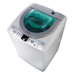 買就送時尚運動提袋★Panasonic國際牌13公斤泡沫洗淨直立式洗衣機(淡瓷灰)NA-130VT-L-庫