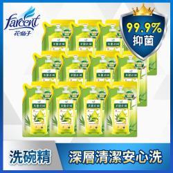 茶樹莊園 超濃縮洗碗精補充包12入-茶樹檸檬(700g/入x12)