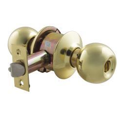 廣安牌 9710型 (無鎖匙) 60 mm 喇叭鎖  青銅金色