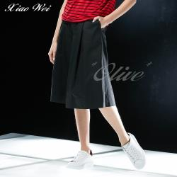 CHENG DA 春夏專櫃精品時尚流行七分褲裙 NO.021694