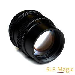 SLR Magic 75mm F1.4 CINE 電影鏡頭│SONY FE 接環