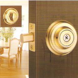 『WACH』花旗門鎖 W101-13 輔助鎖(鎖閂60mm)十字鎖 金色 補助鎖 單鎖頭 單面輔助鎖 硫化銅門 通道鎖