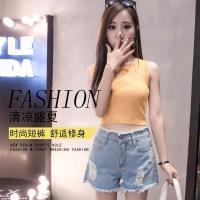 【A3】韓版夏季新款彈力寬鬆牛仔褲-預購