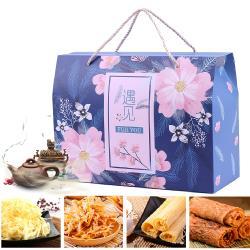 瘋神邦經典綜合海味禮盒(碳烤魷魚片/絲/原味魷魚片/絲)