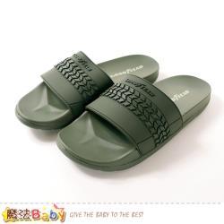 魔法Baby 男運動拖鞋 胎紋造型超Q彈運動拖鞋~sa03305