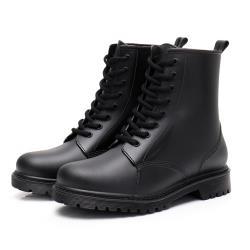【Alice 】 (預購)獨具個性晴雨二用雨靴馬丁靴
