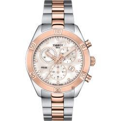 TISSOT天梭 PR100 SPORT 真鑽計時女錶/38mm T1019172211600