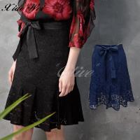 CHENG DA 春夏專櫃精品時尚流行及膝裙 NO.511193