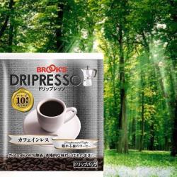 【日本BROOK'S布魯克斯】低咖啡因25入獨享袋(掛耳式濾泡黑咖啡)