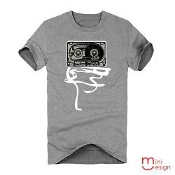 Minidesign-錄音帶潮流設計短T 五色