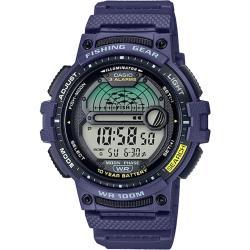 CASIO卡西歐 釣魚達人數位電子錶-藍(WS-1200H-2A)