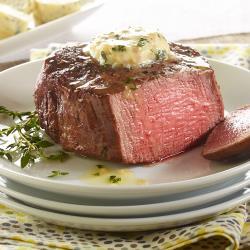 紐西蘭低脂極鮮嫩頂級厚切菲力牛排
