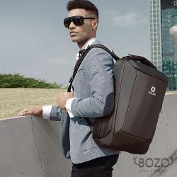 【BOZO伯樂】進口Gianni高密度防水大容量旅遊後背包B6048-經典黑