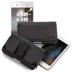 CITY for Samsung Galaxy M11/三星 Samsung Galaxy A31/A51嚴選真皮旋轉腰掛可調整皮套