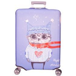 新款拉鍊式行李箱防塵保護套 行李箱套(貓頭鷹21-24吋)