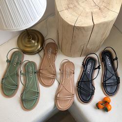 【Alice 】 (預購)  獨家價韓國氣質題單品自然涼鞋