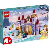 LEGO樂高積木 43180 迪士尼公主系列 - 貝兒的城堡冬季慶典