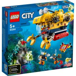 LEGO樂高積木 60264 City 城市系列 - 海洋探索潛水艇