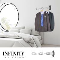 [obis] Infinity螺旋衣架/掛衣架/掛衣壁架(DIY商品)