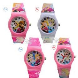 台灣製冰雪奇緣兒童錶手錶卡通錶 4選1(24746111)【卡通小物】