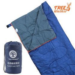 TreeWalker 輕便纖維睡袋-湛藍