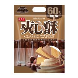 【盛香珍】巧克力夾心酥400g(包)