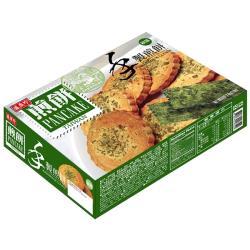 【盛香珍】手製綠藻煎餅210g(盒)