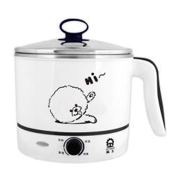 晶工牌1.5L不鏽鋼多功能美食鍋 JK-102G