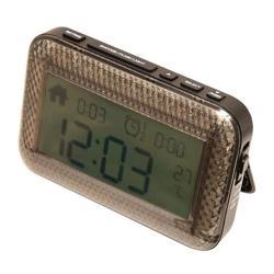 【銀寶生活】攜帶型震動鬧鐘(僅適用電池)
