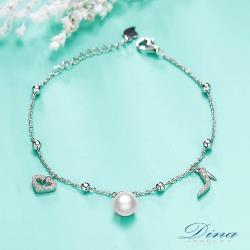 【DINA JEWELRY蒂娜珠寶】小美人魚 925純銀手鍊(CC31753)