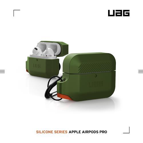 UAG AirPods Pro 耐衝擊防水防塵保護殼-綠
