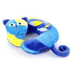 ( Travel Blue 藍旅 ) Kitty 凱蒂貓 兒童U型/ㄇ型頸枕  TB282