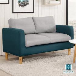 【Hampton 漢汀堡】錫安雙人沙發椅(一般地區免運費/雙人沙發/二人沙發)