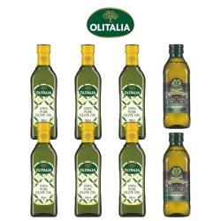 奧利塔純橄欖油500毫升*6罐+義大利GIURLANI老樹特級初榨橄欖油500毫升*2罐