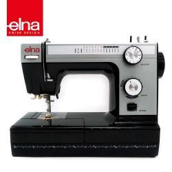 團購熱銷千台【瑞士elna】80週年紀念 黑天鵝縫紉機 HD-1000
