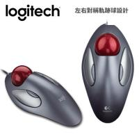 【Logitech 羅技 】新木星軌跡球滑鼠 USB 新版 【加碼贈不鏽鋼環保筷乙雙】