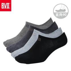 【BVD】超低襪口男隱形襪6雙組(BN701襪子-隱形襪)