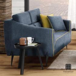 【Hampton 漢汀堡】伯尼雙人椅(沙發/休閒沙發/椅子)